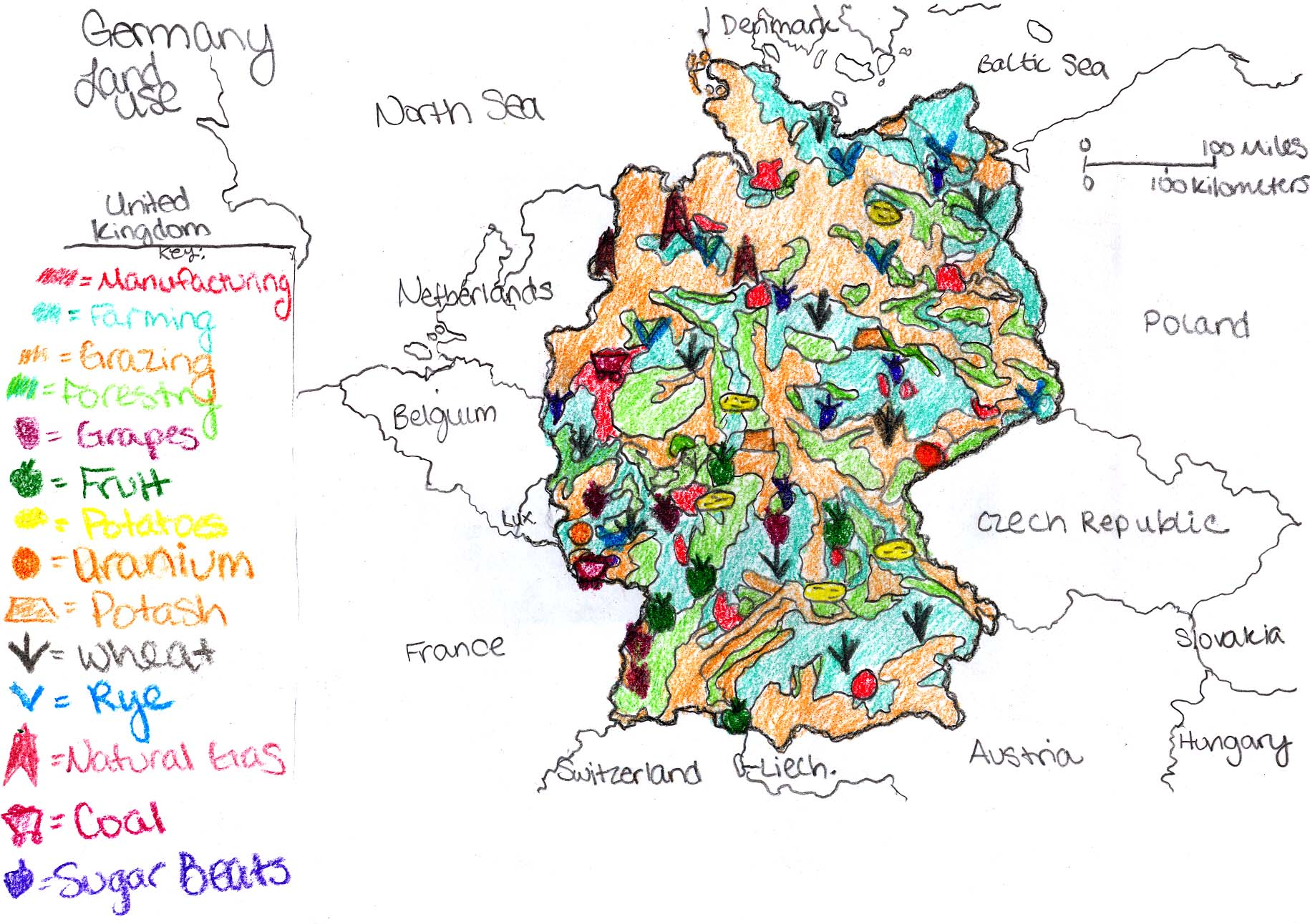 Germanys Natural Rescources Images Reverse Search - Germany map natural resources